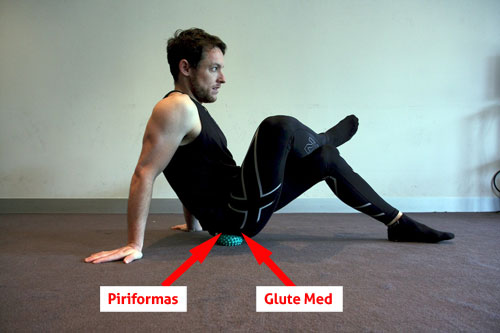 Image showing glute and piriformas