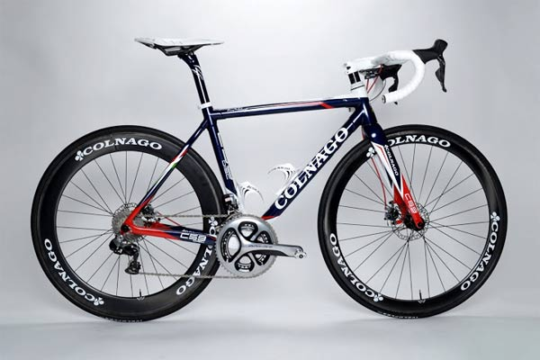 Colnago C59 disc road bike image