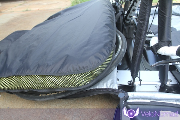 BikND Helium Review—Wheel behind airbag