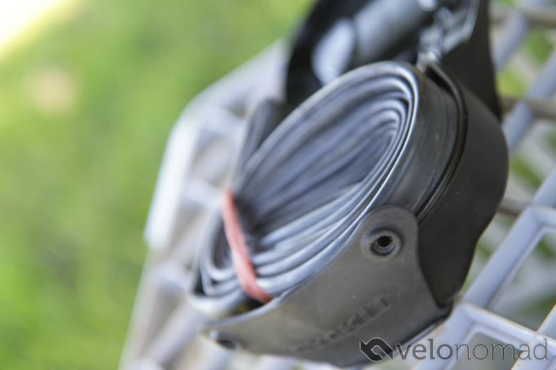 Cyckit under seat integrated storage review images: what fits in the Cyckit