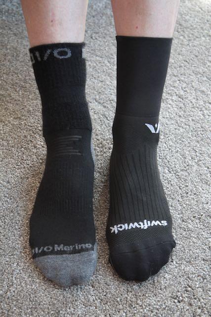 IO Merino Multi Sport comparison with Swiftwick