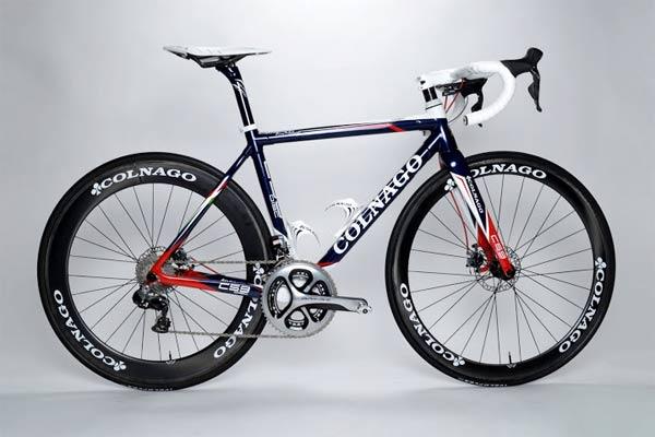 Colnago C59 disc road bike image