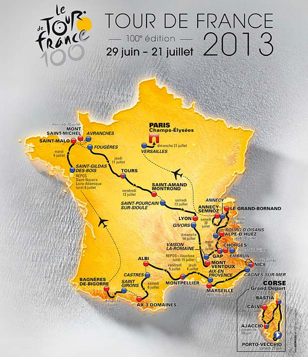 TDF route