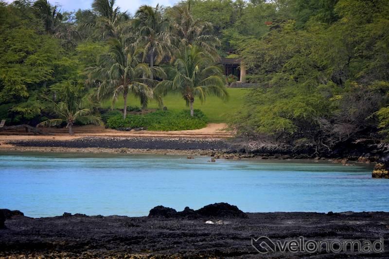 Someone's private beach at Makena!