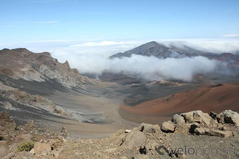 View from Haleakala summit