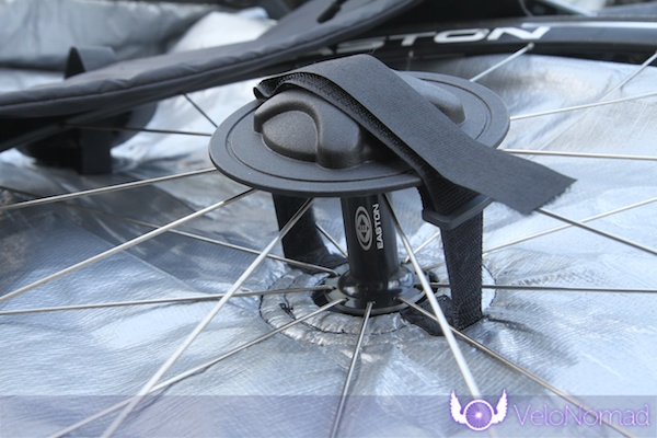 BikND Helium Review—Wheel storage