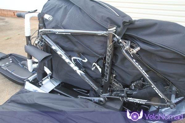 BikND Helium Review—Bike packed in