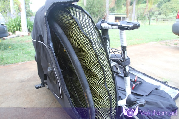 BikND Helium Review—Wheel behind airbag
