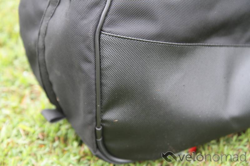 Scicon Aerocomfort 2 TSA bike bag review: bash material