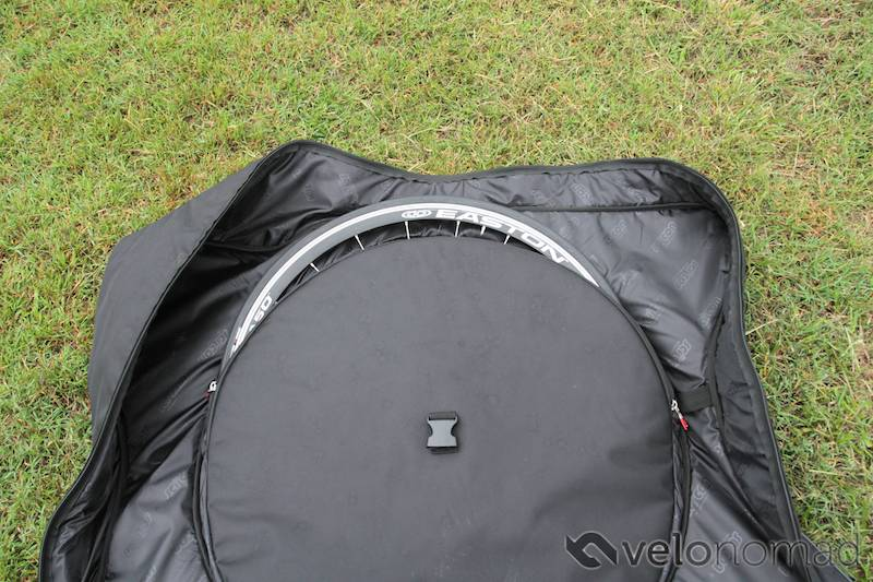 Scicon Aerocomfort 2 TSA bike bag review: wheel compartments