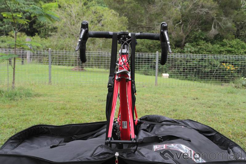 Scicon Aerocomfort 2 TSA bike bag review: securing the bike